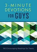 Download Book 3-Minute Devotions for Guys: 180 Encouraging Readings for Teens PDF