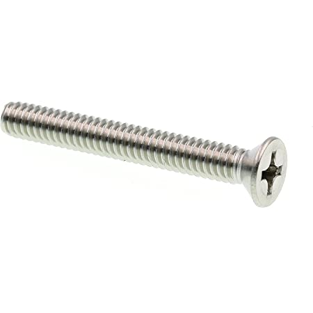 Phillips Drive Zinc Plated Steel Flat Head 100-Pack Prime-Line 9001994 Machine Screws 1//4 in.-20 X 2 in.