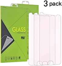 [3 Pack ]Motorola Moto E4 Tempered Glass Screen Protector, TOPBIN Screen Protector Scratch Resistant , Ultra Clear & Ultra Slim [NOT Fit for Moto E4 Plus] Slim [NOT Fit for Moto E4 Plus] (3Pack-Clear)