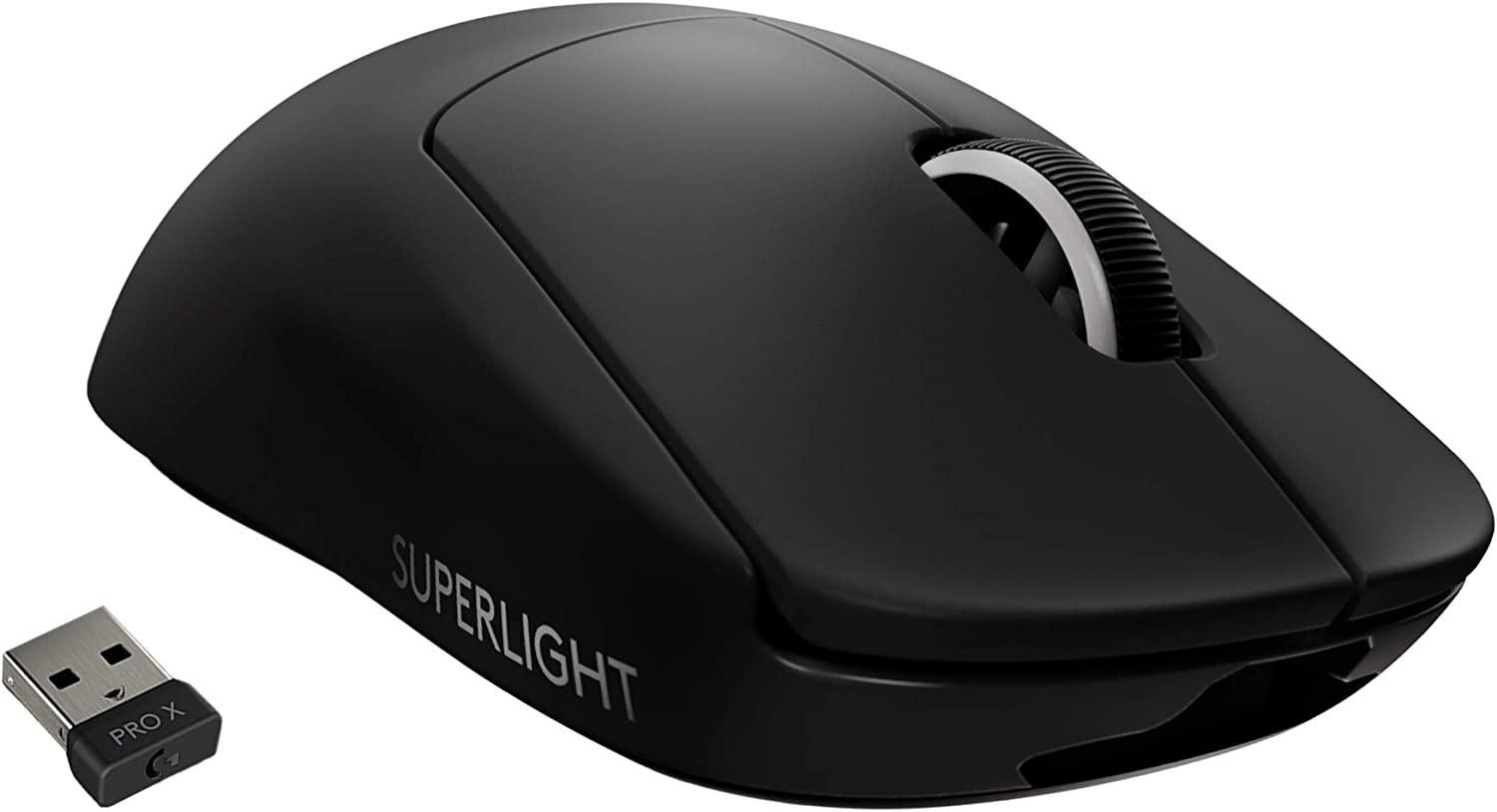 Logitech G PRO X SUPERLIGHT Wireless Gaming Mouse - Black High Speed USB port Lightweight Gaming Mouse Compatible with PC and Mac