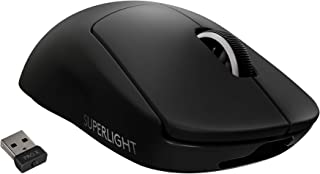 Logitech G PRO X SUPERLIGHT Wireless Gaming Mouse - High Speed, Lightweight Gaming Mouse Compatible with PC and Mac (USB p...
