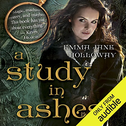 A Study in Ashes audiobook cover art