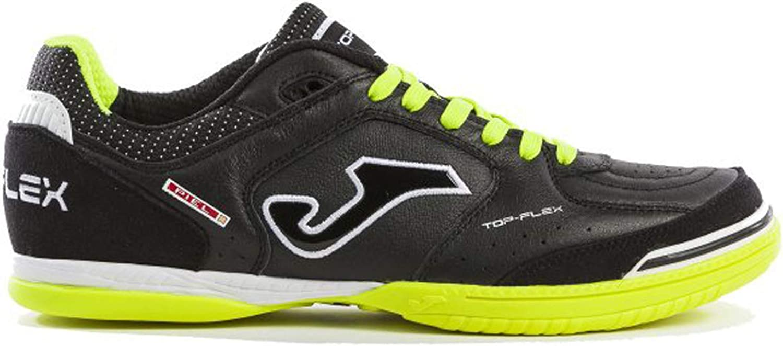 Joma Soccer shoes TOP Flex Indoor 901 Black-Yellow Fluo Calcetto Scarpa