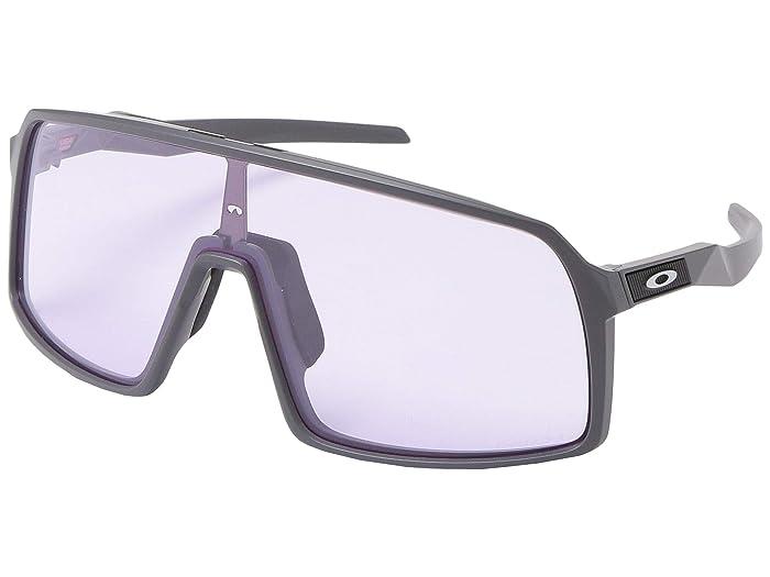 Oakley Sutro (Matte Dark Grey w/ PRIZM Low Light) Fashion Sunglasses