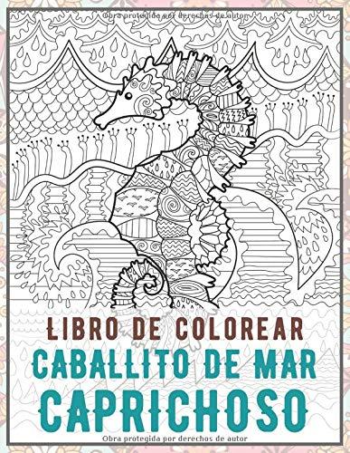 Caballito de mar caprichoso - Libro de colorear ✏️
