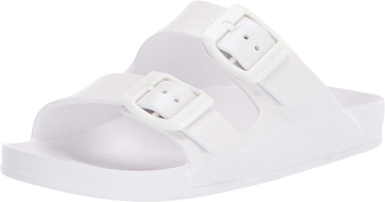 Skechers Foamies Cheap mail order sales girls Molded Pearlized Slides K Little Kid Big quality assurance