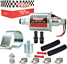 E8012S Universal Electric Fuel Pump Low Pressure 5-9 PSI 12V w/Installation Kit