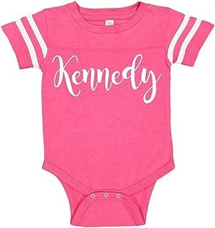 Mashed Clothing Kennedy - Personalized Name Baby Sporty Bodysuit