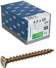 v104/a449s571 secotec aglomerado Surtido caja 1700/piezas con cabeza Torx Azul de galvanizado