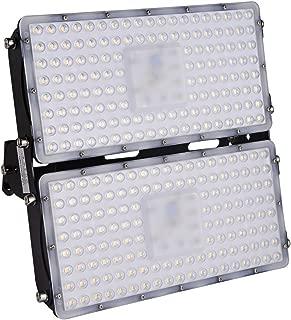 Viugreum 200W LED Flood Light, 20000LM Waterproof IP65 Outdoor Work Light, Warm White(2800-3000K) Security Lights, Landscape Spotlights Wall Lighting for Garage, Garden, Lawn, Yard