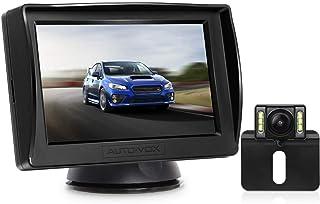 AUTO VOX M1PRO Rückfahrkamera Set mit 4,3'' TFT LCD Monitor, IP68 wasserdichte Rückfahrkamera mit Nachtsicht, 165° Weitwinkel, Rückfahrkamera Kabel mit Stabiler Signalübertragung (Upgrade)