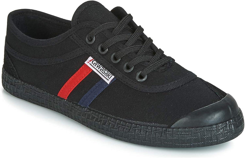 Kawasaki Unisex Retro Canvas shoes Solid Black