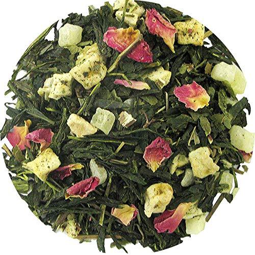 Ananas appel thee, groene thee, 100 gram losse thee