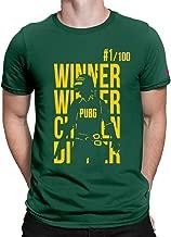 PrintOctopus Graphic Printed T-Shirt for Men PUBG T-Shirt   Playerunknown's Battlegrounds T-Shirt   Half Sleeve T-Shirt   Round Neck T Shirt   100% Cotton T-Shirt for Women