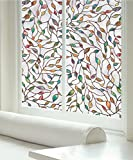 Artscape 02-3021 New Leaf Window Film, Multi Color