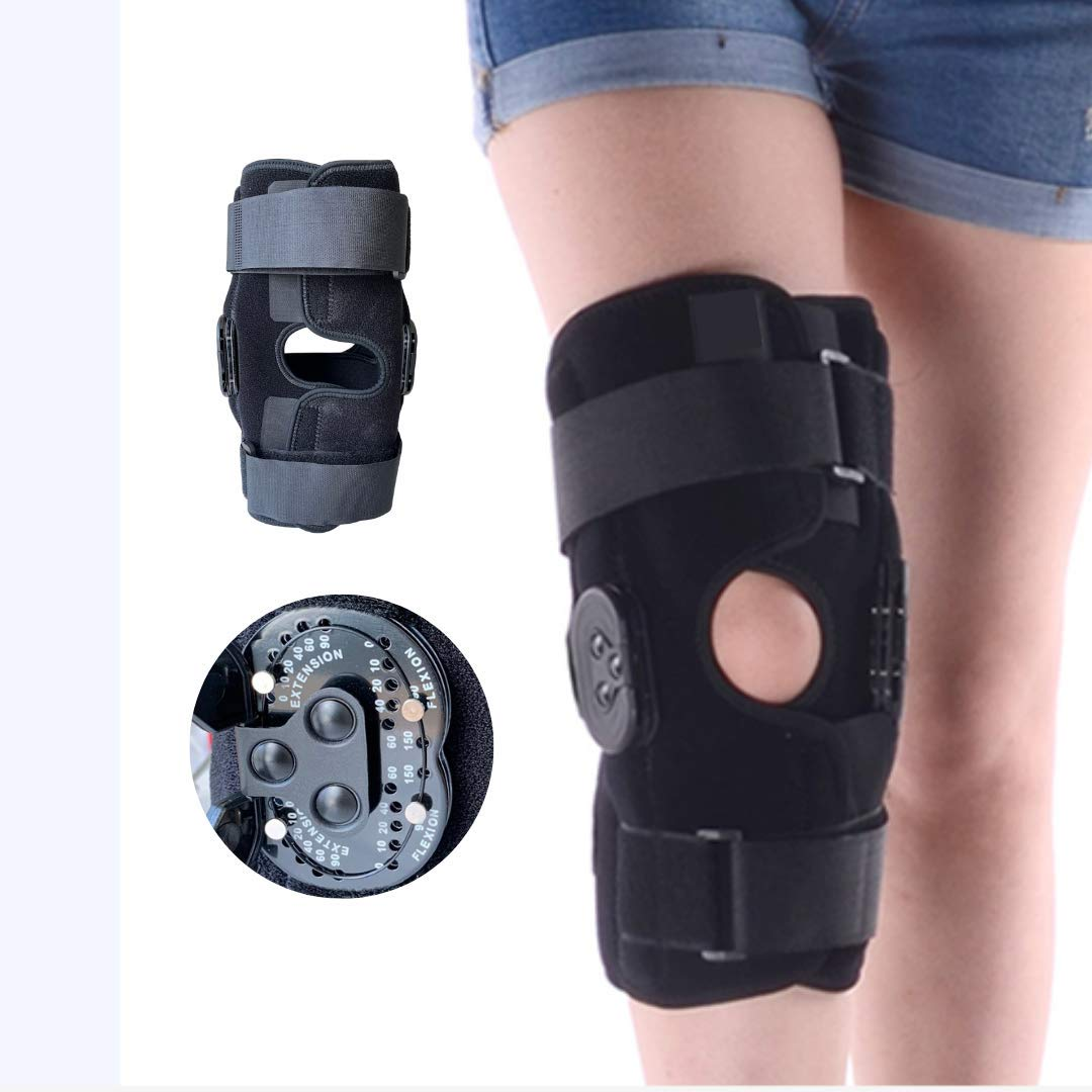 Albuquerque Mall Comfyorthopedic Hinged knee brace Side with Stabilizers Adjustab New York Mall