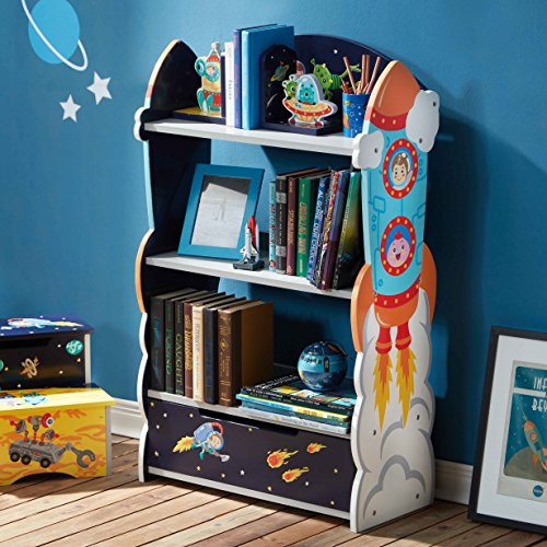 Fantasy Fields Wooden Kids Bookshelf