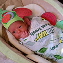 Baby Halloween Costumes - Subway Sandwich Costume w Hat - Photography Props for Newborn Pictures Infant Boy Girl 0-3 6-9 12-18 Months