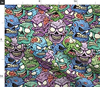 Best zombie print fabric Reviews