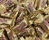 Sunny Island TWIX Caramel Miniatures, Milk Chocolate Cookie Bars, Bulk Candy - 2 Pounds Bag