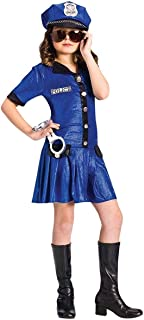 Fun World Police Chief Costume, Large 12 - 14, Blue