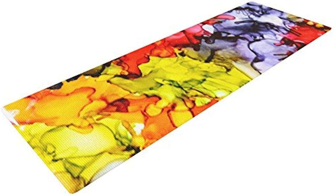 KESS Super beauty product restock Phoenix Mall quality top InHouse Claire Day Yoga Exercise Mat