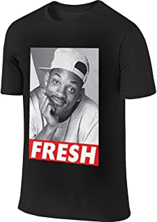 Fresh Prince of Bel-Air Will Smith Humor Sports Black T Shirt