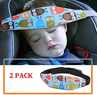 2 Pack Baby Head Support for Car Seat-Car Seat Head Support for Toddler-Car Pillow-Child Car Seat Head Support-Safety Car Seat Neck Relief-Offers Protection and Safety for Kids-Baby Shower Gift