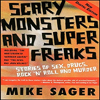 Scary Monsters and Super Freaks audiobook cover art