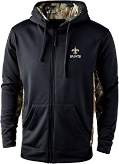 Dunbrooke Apparel Men's Decoy Camo Accent Fullzip Tech Fleece