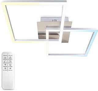 B.K.Licht, plafonnier LED, platine LED 27W, contrôle de la température de couleur CCT : blanc chaud/neutre/froid 3000 à 65...