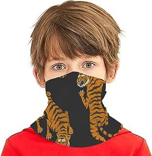 Pañuelo para la Cara de los niños Tigres asiáticos en Estilo japonés clásico Variedad de pasamontañas para niños Máscara F...