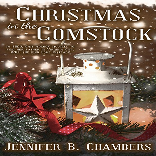 Christmas in the Comstock audiobook cover art