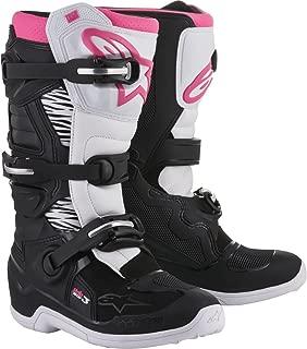 Alpinestars Tech 3 Stella Women's Motocross Off-Road Motorcycle Boots 2018 Version Black/White/Pink, Size 9