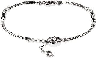 Brighton Bali Hai Chain Belt (SILVER)