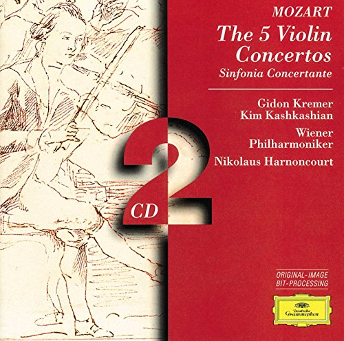 Mozart: The 5 Violin Concertos; Sinfonia Concertante