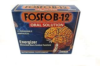 FOSFO B-12 Oral Solution BEBIBLE AMPOLLA and FOSFO B-12 Syrup 120ML (Fosfo B-12 Ampolla 15 Units)
