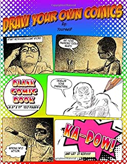 Draw Your Own Comics: Unleash Your Inner Artist with This Blank Comic Book