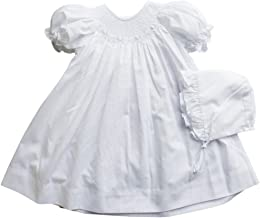 Petit Ami Baby Girls' Bishop Smocked Daydress