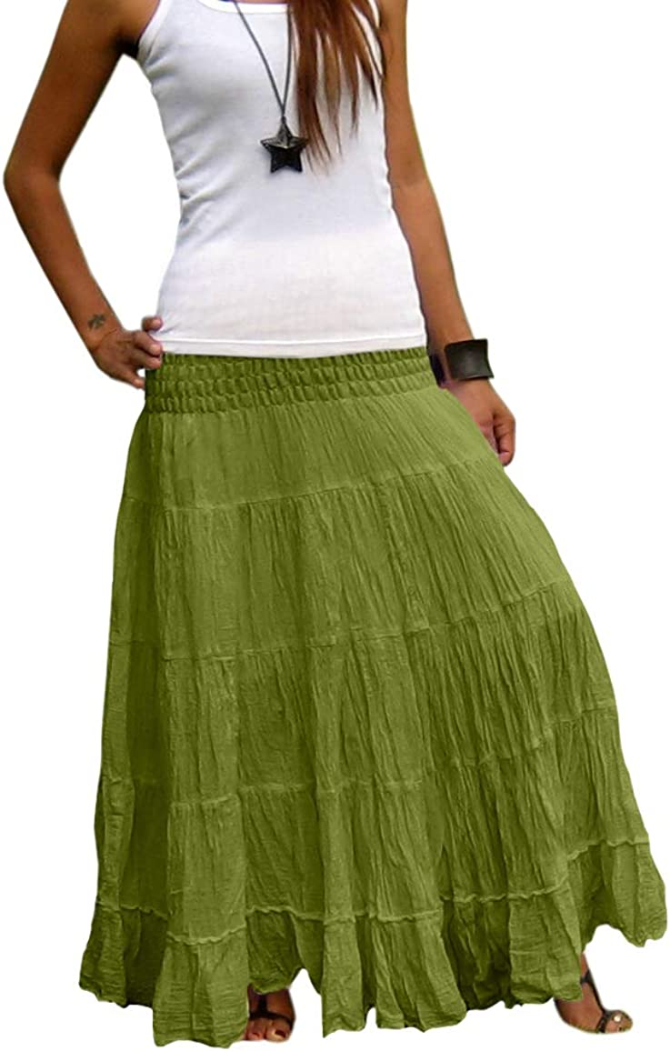 Billy's Thai Shop Plus Size Maxi Long Skirts Low price for Han favorite Women Skirt