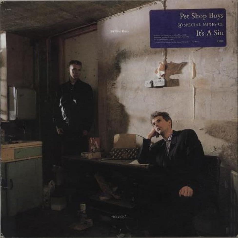 Pet Shop Boys It's a Sin - Rare 1987 Vinyl