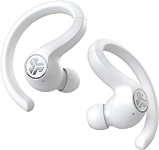 JLab Audio JBuds Air Sport True Wireless Bluetooth Earbuds + Charging Case - White - IP66 Sweat Resistance - Class 1 Bluet...