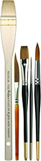 Pro Arte Ron Ranson Starter Pack - Watercolor & Acrylic Brushes - Size Medium