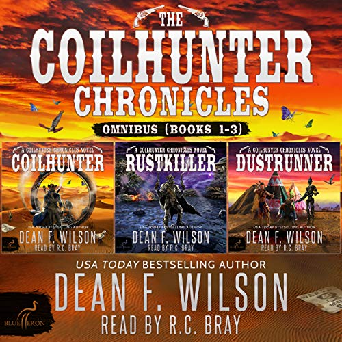 Page de couverture de The Coilhunter Chronicles - Omnibus (Books 1-3)