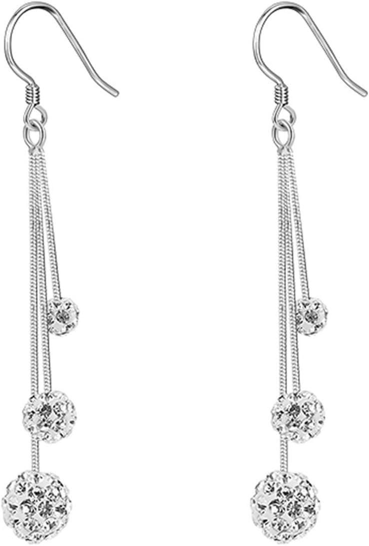 14k White Gold Sale item Hoop Earrings Polished
