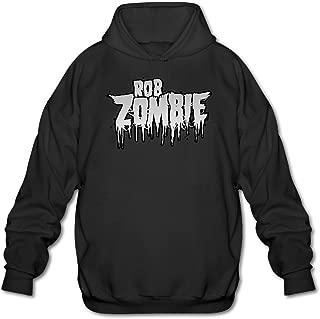 Rob Zombie Men's Funny Hoodie Sweatshirt Black