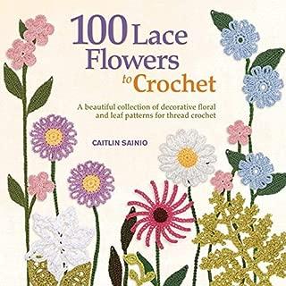 lacy crochet flower pattern