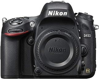 Nikon D610 24.3 MP CMOS FX-Format Digital SLR Camera (Body Only)(Renewed)
