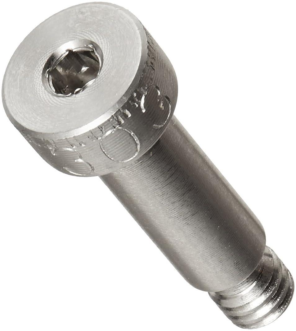 18-8 Stainless Steel Shoulder Screw, Plain Finish, Socket Head Cap, Hex Socket Drive, Standard Tolerance, Meets ASME B18.3, 3/8