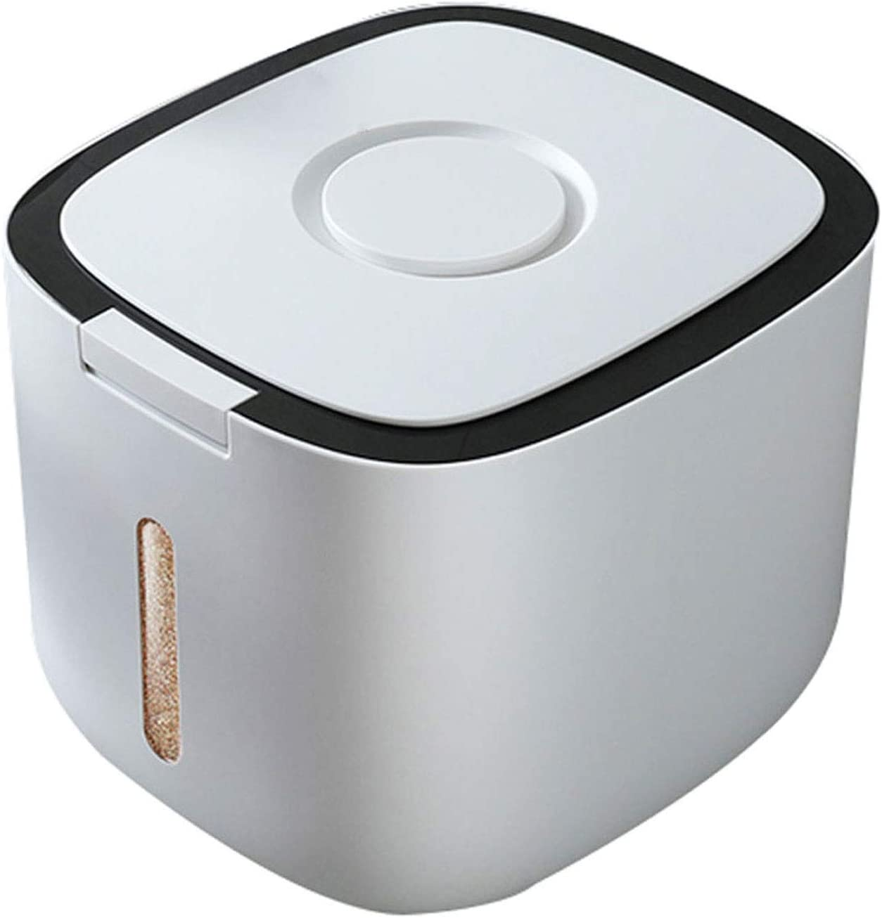Rice Dispenser Cereal Storage Container Dry Food Countertop Di Free Shipping New Recommended